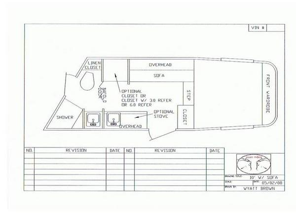 Living Quarters Horse Trailers Floorplans, Horse Trailers, Living ...